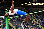 EUGENE, OR - JUNE 8: Clayton Brown of the Florida Gators competes in the high jump during the Division I Men's Outdoor Track & Field Championship held at Hayward Field on June 8, 2018 in Eugene, Oregon. (Photo by Jamie Schwaberow/NCAA Photos via Getty Images)