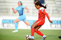 Boyds, MD - Saturday May 6, 2017: Francisca Ordega during a regular season National Women's Soccer League (NWSL) match between the Washington Spirit and Sky Blue FC at Maureen Hendricks Field, Maryland SoccerPlex.