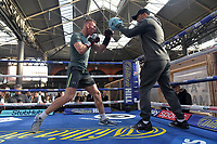Ted Cheeseman during a Public Workout at Old Spitalfields Market on 24th October 2018