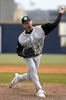 April 14, 2007: Ron Madej of the Kane County Cougars at Elfstrom Stadium in Geneva, IL  Photo by:  Chris Proctor/Four Seam Images