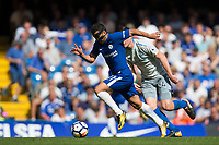 Chelsea's Pedro in action     <br /> <br /> <br /> Photographer Craig Mercer/CameraSport<br /> <br /> The Premier League - Chelsea v Everton - Sunday 27th August 2017 - Stamford Bridge - London<br /> <br /> World Copyright &copy; 2017 CameraSport. All rights reserved. 43 Linden Ave. Countesthorpe. Leicester. England. LE8 5PG - Tel: +44 (0) 116 277 4147 - admin@camerasport.com - www.camerasport.com