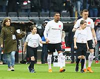 Kevin-Prince Boateng (Eintracht Frankfurt) bei der Kampagne gegen Rassismus - 17.03.2018: Eintracht Frankfurt vs. 1. FSV Mainz 05, Commerzbank Arena