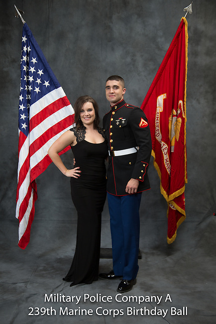 Gage Deatherage, 239 Marine Ball, Saturday Nov. 15, 2014  in Lexington, Ky. Photo by Mark Mahan