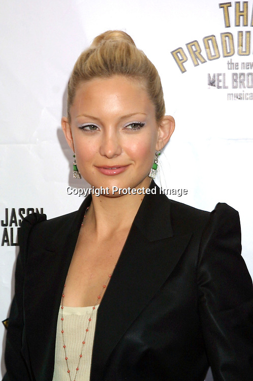 """©2003 KATHY HUTCHINS  / HUTCHINS PHOTO.OPENING OF THE PLAY, """"THE PRODUCERS"""".PANTAGES THEATER.LOS ANGELES, CA.MAY 29, 2003.KATE HUDSON"""