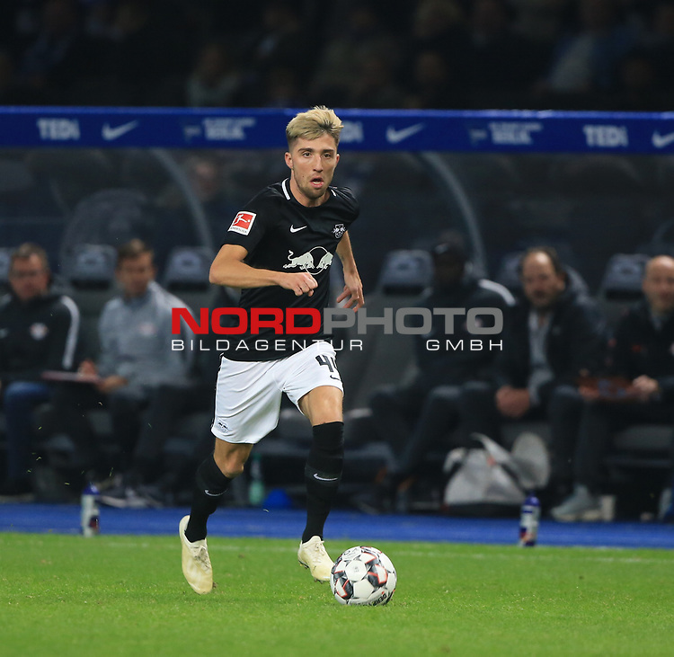 03.11.2018, OLympiastadion, Berlin, GER, DFL, 1.FBL, Hertha BSC VS. RB Leipzig, <br /> DFL  regulations prohibit any use of photographs as image sequences and/or quasi-video<br /> <br /> im Bild <br /> <br />       <br /> Foto © nordphoto / Engler