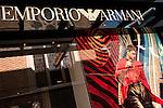 Emporio Armani 03 - Emporio Armani shopfront in Wesley Arcade, Perth, Western Australia