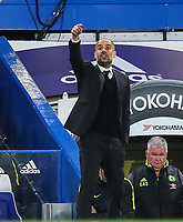 Manager Pep Guardiola of Manchester City during the Premier League match between Chelsea and Manchester City at Stamford Bridge on April 5th 2017 in London, England.<br /> Foto PHC Images / Panoramic / Insidefoto <br /> ITALY ONLY