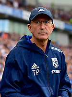 West Bromwich Albion head coach Tony Pulis <br /> <br /> Photographer David Horton/CameraSport<br /> <br /> The Premier League - Brighton and Hove Albion v West Bromwich Albion - Saturday 9th September 2017 - The Amex Stadium - Brighton<br /> <br /> World Copyright &copy; 2017 CameraSport. All rights reserved. 43 Linden Ave. Countesthorpe. Leicester. England. LE8 5PG - Tel: +44 (0) 116 277 4147 - admin@camerasport.com - www.camerasport.com