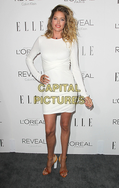 20 October  2014 - Beverly Hills, California - Doutzen Kroes. 2014 ELLE Women In Hollywood Awards held at the Four Seasons Hotel.  <br /> CAP/ADM/FS<br /> &copy;Faye Sadou/AdMedia/Capital Pictures