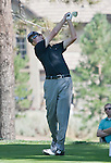 August 3, 2012: Roberto Castro from Atlanta, Georgia tees off on the 13th hole during the second round of the 2012 Reno-Tahoe Open Golf Tournament at Montreux Golf & Country Club in Reno, Nevada.