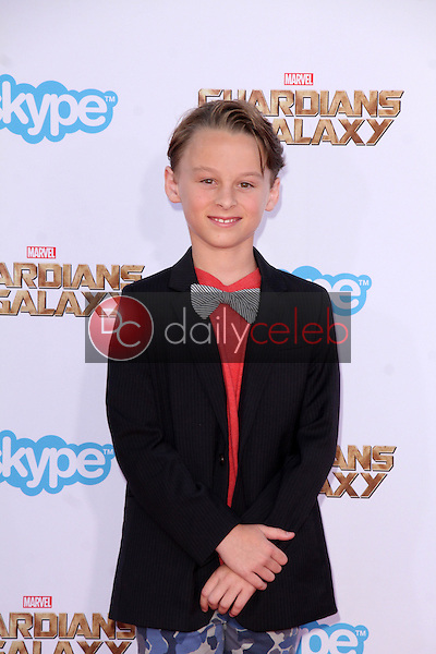 """Wyatt Oleff<br /> at the """"Guardians Of The Galaxy"""" Premiere, Dolby Theater, Hollywood, CA 07-21-14<br /> David Edwards/Dailyceleb.com 818-249-4998"""