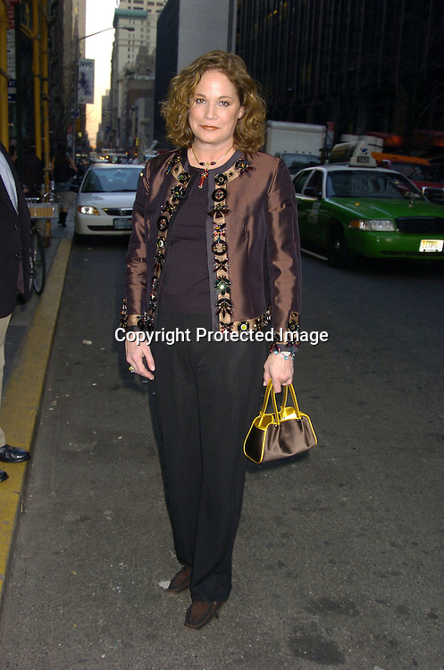 Barbara de Kwiatowski..arriving at the Martha Graham Dance Company Opening Night Gala on April 6, 2005 at New York City Center. ..Photo by Robin Platzer, Twin Images