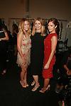 Lauren Conrad, Jenny Packham and Minka Kelly  - Backstage - Mercedes-Benz New York Fashion Week- Jenny Packham Spring/Summer 2013 Runway Show,  9/11/12