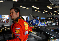 Feb 10, 2007; Daytona, FL, USA; Nascar Nextel Cup driver Martin Truex Jr (1) during practice for the Daytona 500 at Daytona International Speedway. Mandatory Credit: Mark J. Rebilas