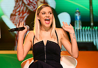 10 June 2018 - Nashville, Tennessee - Kelsea Ballerini. 2018 CMA Music Fest Infinity Fan Fair X held at Music City Center. <br /> CAP/ADM/LF<br /> &copy;LF/ADM/Capital Pictures