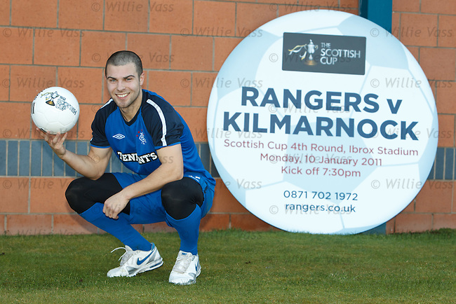 Richard Foster promoting Monday's Scottish Cup tie with Kilmarnock at Ibrox