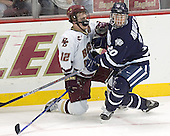 Chris Collins, Chris Murray - The Boston College Eagles and University of New Hampshire earned a 3-3 tie on Thursday, March 2, 2006, on Senior Night at Kelley Rink at Conte Forum in Chestnut Hill, MA.  Boston College honored its three seniors, captain Peter Harrold and alternate captains Chris Collins and Stephen Gionta, before the game.