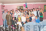 Lisa Balmer, seated third from left from Woodgrove, Moyvane celebrated her 21st birthday with family and friends in the Golf Hotel ballybunion on Saturday night.      t   Copyright Kerry's Eye 2008