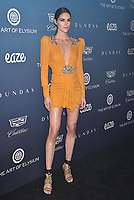 LOS ANGELES, CA - JANUARY 05: Hilary Rhoda attends Michael Muller's HEAVEN, presented by The Art of Elysium at a private venue on January 5, 2019 in Los Angeles, California.<br /> CAP/ROT/TM<br /> ©TM/ROT/Capital Pictures
