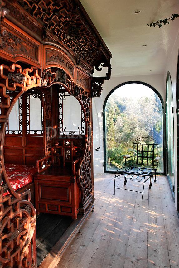 antique wooden bedroom