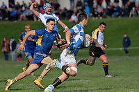 College Rugby Premier 2 Final - St Patrick's Silverstream v St Bernard's College at St Patrick's Silverstream, Upper Hutt, New Zealand on Saturday 19 August 2017.<br /> Photo by Masanori Udagawa. <br /> www.photowellington.photoshelter.com