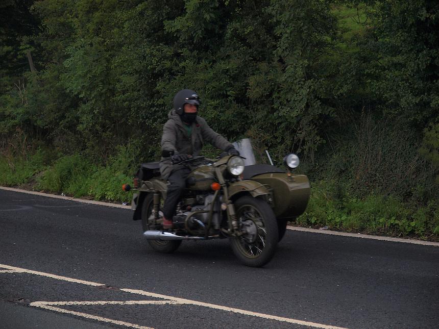 Army Motorbike with Sidecar