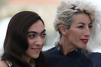 Tania Casciani and Romina Iniesta attend the photocall for 'Murder Me, Monster (Meurs, Monstre, Meurs)' during the 71st annual Cannes Film Festival at Palais des Festivals on May 13, 2018 in Cannes, France.<br /> CAP/GOL<br /> &copy;GOL/Capital Pictures