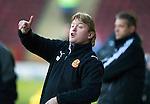 Motherwell v St Johnstone...28.01.12  .Stuart McCall.Picture by Graeme Hart..Copyright Perthshire Picture Agency.Tel: 01738 623350  Mobile: 07990 594431