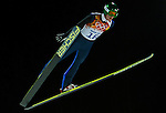 Denis Klornilov of Russia during the Men's Normal Hill Individual of the 2014 Sochi Olympic Winter Games at Russki Gorki Ski Juming Center on February 9, 2014 in Sochi, Russia. Photo by Victor Fraile / Power Sport Images