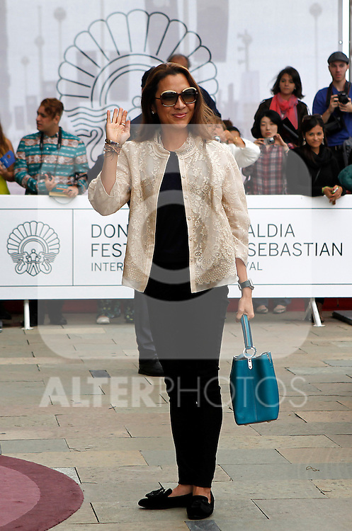 Actress and model Michelle Yeoh arrives to Maria Cristina Hotel to attend the 61 San Sebastian Film Festival, in San Sebastian, Spain. September 20, 2013. (ALTERPHOTOS/Victor Blanco)