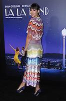 "06 December 2016 - Westwood, California. Jackie Cruz.   Premiere of Liongate's ""La La Land""  held at Mann Village Theater. Photo Credit: Birdie Thompson/AdMedia"