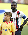 06 July 2007: USA Captain Freddy Adu (11). The Under-20 Men's National Team of the United States defeated Brazil's Under-20 Men's National Team 2-1 in a Group D opening round match at Frank Clair Stadium in Ottawa, Ontario, Canada during the FIFA U-20 World Cup Canada 2007 tournament.