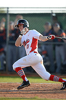 Illinois State Redbirds Sean Beesley (29) during a game against the Bucknell Bison on March 8, 2015 at North Charlotte Regional Park in Port Charlotte, Florida.  Bucknell defeated Illinois State 13-8.  (Mike Janes Photography)