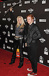 HOLLYWOOD, CA. - October 21: Cherie Currie and son Jake Hays arrive at the Hard Rock Cafe - Hollywood - Grand Opening on October 21, 2010 in Hollywood, California.