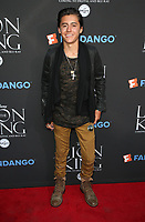 "05 August 2017 - Los Angeles, California - Isaak Presley. ""The Lion King"" Sing-Along Screening. Photo Credit: F. Sadou/AdMedia"