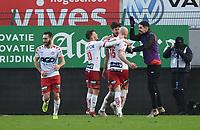 KVK KORTRIJK - SV ZULTE WAREGEM :<br /> Christophe Lepoint (15)) scoorde zonet de gelijkmaker<br /> <br /> Foto VDB / Bart Vandenbroucke