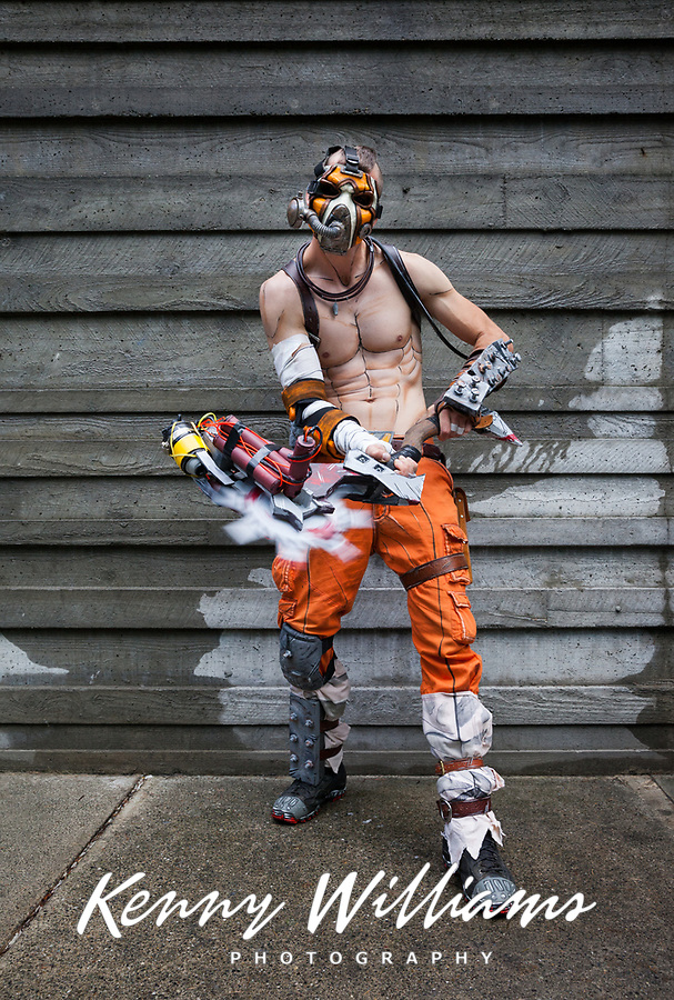 Borderlands Psycho, Pax West 2016, Seattle, WA, USA.