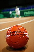 18-9-07, Rotterdam, Daviscup NL-Portugal, training, Right to Play op de tennisbaan