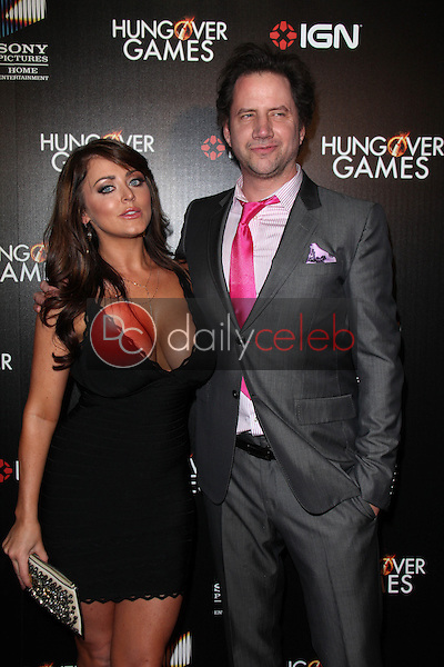 Kirsty Hill, Jamie Kennedy<br /> at &quot;The Hungover Games&quot; Premiere, TCL Chinese 6, Hollywood, CA 02-11-14<br /> David Edwards/Dailyceleb.com 818-249-4998