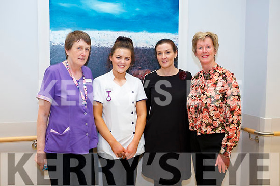 At the Kerry Hospice Foundation and HSE open day people to view the New In Patient Unit on Friday l-r: Anne O'Shea, Samantha Stackpool, Eimear Hallisey and Orla Sullivan.