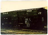 Stock car #5519.<br /> D&amp;RGW