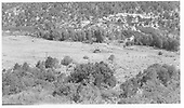 First photo east of RGS stockyard site area in Lost Canyon.<br /> RGS  Lost Canyon, CO  Taken by Maxwell, John W. - 8/16/1962