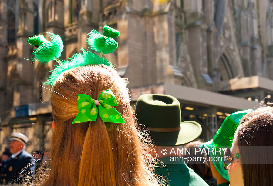 MARCH 17, 2011 - MANHATTAN: St. Patrick's Day Parade