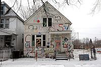 casa decorata con numeri