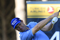 Padraig Harrington (IRL) tees off the 4th tee during Saturday's Round 3 of the 2018 Turkish Airlines Open hosted by Regnum Carya Golf &amp; Spa Resort, Antalya, Turkey. 3rd November 2018.<br /> Picture: Eoin Clarke | Golffile<br /> <br /> <br /> All photos usage must carry mandatory copyright credit (&copy; Golffile | Eoin Clarke)