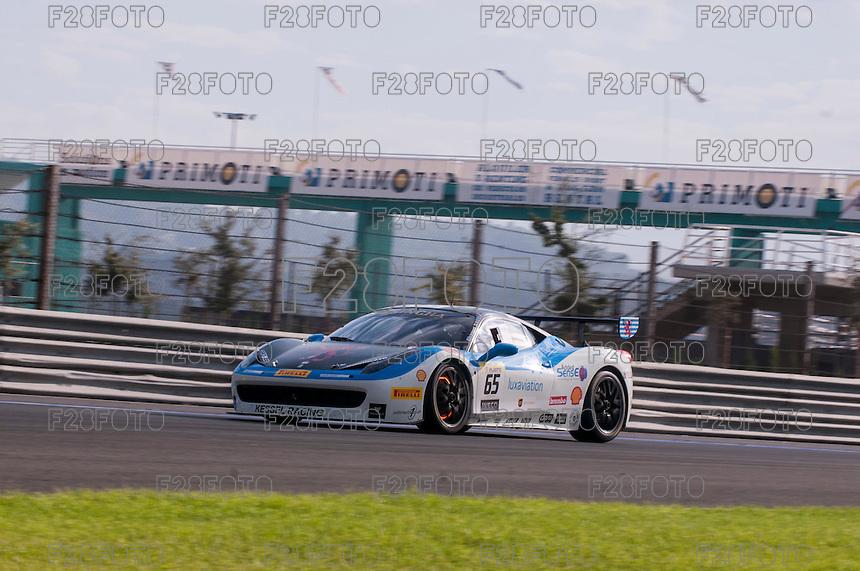 VALENCIA, SPAIN - OCTOBER 2: Alexis De Bernardi during Valencia Ferrari Challenge 2015 at Ricardo Tormo Circuit on October 2, 2015 in Valencia, Spain