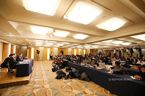 General View, JANUARY 28, 2015 - Basketball : JAPAN 2024 TASK FORCE holds a Press conference at Grand Prince Hotel New Takanawa, Tokyo, Japan. This group has been created with a long term 10 year goal of improving basketball in Japan and the short term aim of releasing Japan from FIBA's sanctions. (Photo by Shingo Ito/AFLO SPORT)