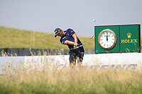 Dean Burmester (RSA) on the 2nd tee during Round 3 of the HNA Open De France at Le Golf National in Saint-Quentin-En-Yvelines, Paris, France on Saturday 30th June 2018.<br /> Picture:  Thos Caffrey | Golffile