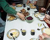 Szkaradowo 19.04.2016 Poland <br /> Dinner at Wybierala family home. <br /> Photo: Michal Adamski / Napo Mentor<br /> <br /> Obiad w rodzinnym domy panstwa Wybierala.<br /> Photo: Michal Adamski / Napo Mentor
