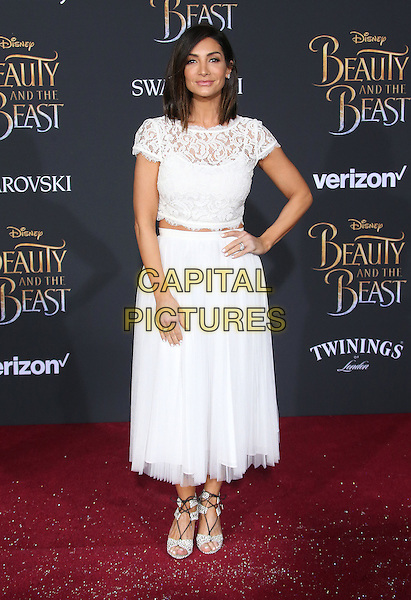 02 March 2017 - Hollywood, California - Courtney Laine Mazza. Disney's &quot;Beauty and the Beast' World Premiere held at El Capitan Theatre.   <br /> CAP/ADM/FS<br /> &copy;FS/ADM/Capital Pictures